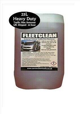 25L TFR Fleetclean Traffic Film Remover Car Bus Truck Wash Cleaner • 19.45£
