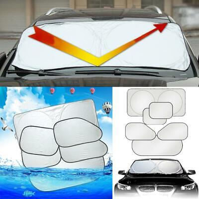 6PCS Car Window Sun Shield Cover Sunshade Blind Visor Shade Covers Protector UK • 9.27£