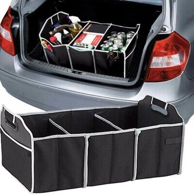 CAR BOOT ORGANISER Tidy Back Seat Storage Bag Pocket Accessories Large UK NEW • 5.99£
