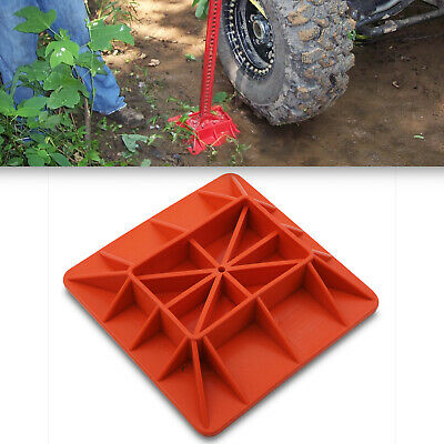 Universal Off Road Suv Resuce Farm 4x4 High Lift Jack Base Support Plate Stand • 24.99£