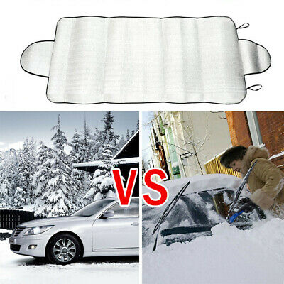Car Windscreen Cover Snow/Frost/Ice/Winter/Sun/Shade/Dust Protector Shield UK • 4.39£