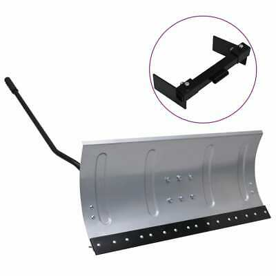 VidaXL Snow Shield For Lawnmower With Adapter Sliding Plate Snow Shovel Blade • 130.99£