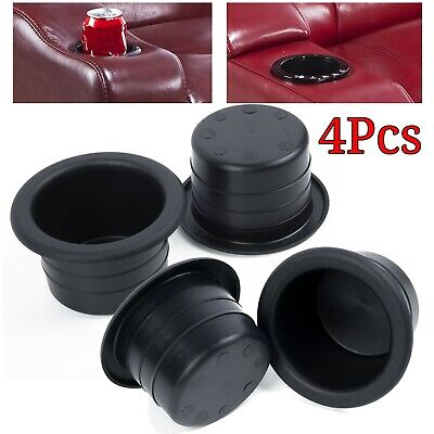 4x Plastic Cup Holders Boat RV Car Truck Inserts Universal Size Multi-function • 8.92£