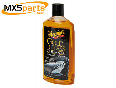 Meguiars Gold Class Shampoo & Conditioner 473ml Car Cleaning Polishing Valeting • 8.34£