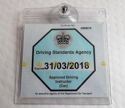 Universal Ticket License Permit Badge Holder Reusable Holder Transferable  • 4.10£