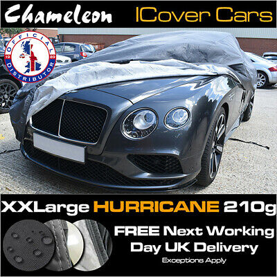 Waterproof XXL Car Cover, Heavy Duty 210G, Double Stitched, UV Protection • 35£