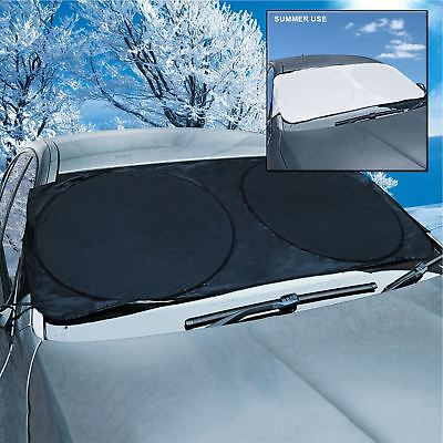 Frost Shield Car Windscreen Cover Snow Ice Protection Winter Window Guard Screen • 5.45£