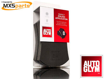Autoglym Perfect Polish Applicator Pad Sponge Pack Of 2 Car Cleaning & Valeting • 8.50£
