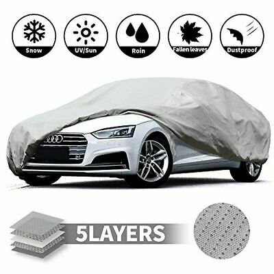 Universal Heavy Duty Full Car Cover UV Protection Outdoor Breathable Large Size • 11.99£