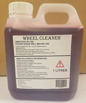 WHEEL CLEANER 1 LITRE IRON X CONTAMINANT FALLOUT REMOVER 1l OFFER • 5.94£