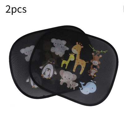 2x Black Kids Baby Children Car Window UV Protection Blind Sun Shades Twin • 4.96£