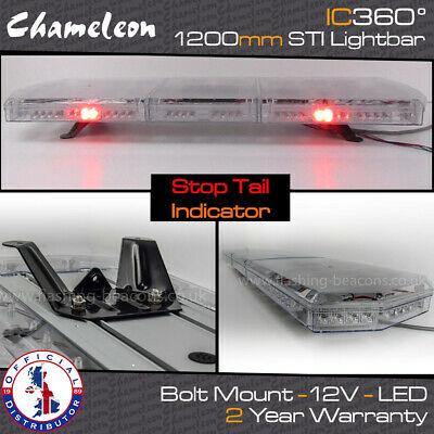 IC360 LED Amber Recovery Hazard Light Bar - 1200mm 48  BRAKE / TAIL / INDICATOR • 299.95£