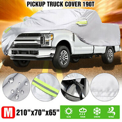 Pickup Truck Dust Cover M Universal Fit For Most Cars Waterproof Outdoor Protect • 23.98£
