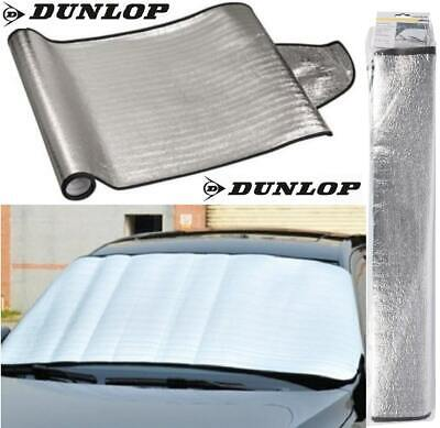 Dunlop Foil Frost Snow Car Windscreen Cover Ice Winter SunShade Heat 150 X 70 Cm • 4.55£