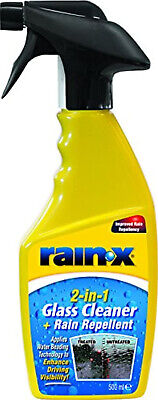 Glass Cleaner And Rain Repellent Remove Sleet Snow Ice Bugs And Road Spray 500ml • 6.90£