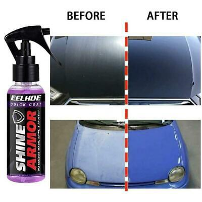 Shine Armor Fortify Quick Coat Ceramic Coating 3 In 1 Hydrophobic Car Wax 120mL • 5.99£