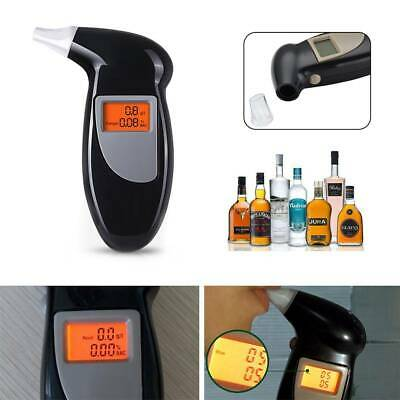 Hot Professional LCD Digital Breath-Alcohol Tester Breathalyser Police UK Seller • 4.79£