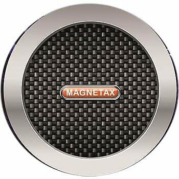 Carbon Black Magnetax Magnetic Car Tax Disc Holder For All Cars Windscreen -SALE • 1.99£