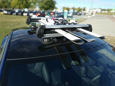 Treefrog Ski & Snowboard Rack Carrier Suction Mounted | Compatible With Tesla • 389.95£