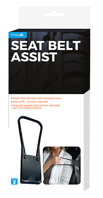 Simply Seat Belt Assist Pack Of 2. For Seat Belt Fitting Without Turning. • 9.50£