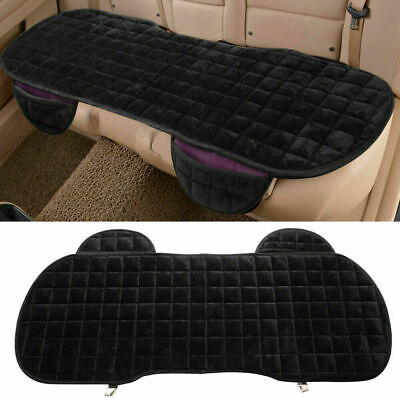 Car Breathable Rear Back Seat Cover Protector Mat Chair Cushion Black Universal • 10.79£