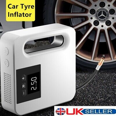 120W Car Tyre Inflator Portable High-power Mini Rapid Inflator Pump 150PSI 12V • 27.39£