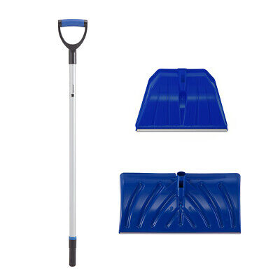 2 In 1 Heavy Duty Plastic Snow Scoop With Replaceable Shovel Head • 29.99£