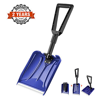 Orientools Heavy Duty Folding Plastic Snow Shovel With D-Grip Handle • 17.99£