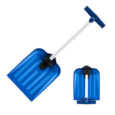 ORIENTOOLS Folding Snow Shovel With Telescopic T Grip Handle • 16.99£