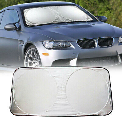 Car Front Rear Windshield Window Sun Shade Shield Cover Visor UV Block Foldable • 5.24£