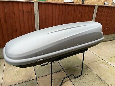 Halford's Slim Roof Box 320 Litre's • 100£
