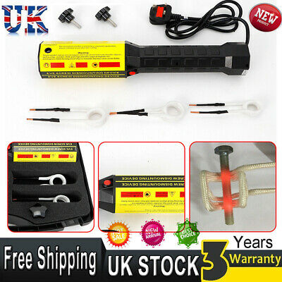 NEW 220V Magnetic Induction Heater Kits With Coils Flameless Heat For Automotive • 159£