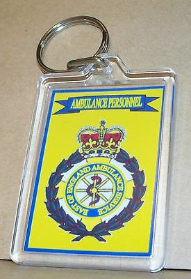 East Of England Ambulance Service Personnel Key Ring.. • 4£