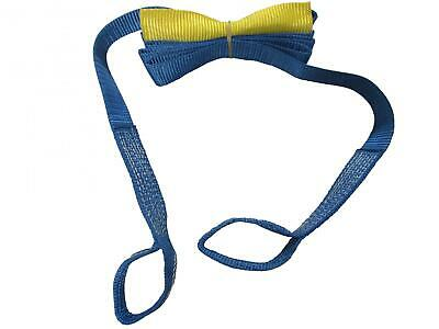 Tow Strap 50MM 4.5M 5 Ton (Heavy Duty Blue Reinforced Eyes Rope Strop Towing) • 8.95£