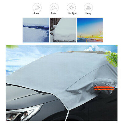 Dust Cover Rain Sun Shade Ice Snow Frost Car Windshield Front Window Protector • 5.49£
