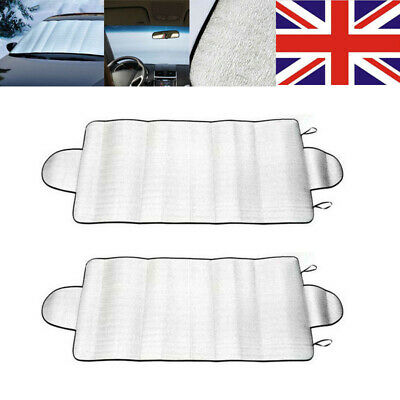 Windscreen Cover Sun Shade Car Window Screen Frost Ice Large Snow Dust Protector • 4.75£