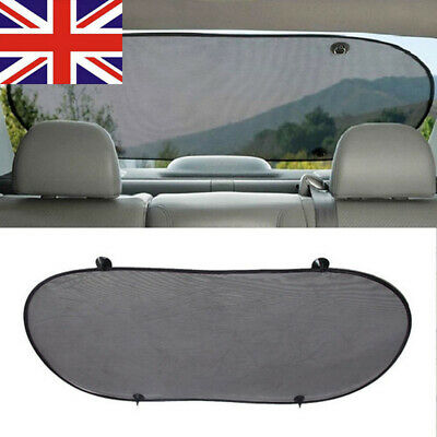 Rear Window Sun Shade Screen Protection Suction Mesh For Car UV Protection • 4.99£
