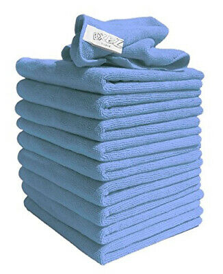 10x Large Microfibre Cleaning Auto Car Detailing Soft Cloths Wash Towel Duster • 6.99£