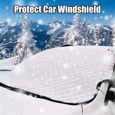 Large Heavy Duty Windscreen Cover Protect From Snow Frost Ice Screen Windshield • 12.99£