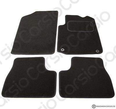 Citroen DS3 2009 To 2018 Fully Tailored Black Car Floor Mats Carpets 2 Clips • 11.85£