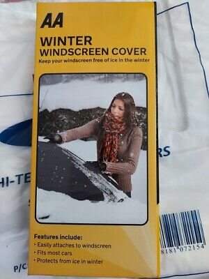 AA Windscreen Cover Winter Cover From Ice • 3.99£