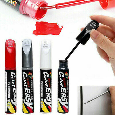 Profession DIY Pen Car Clear Scratch Remover Brush Touch Up Auto Paint Repair • 1.99£