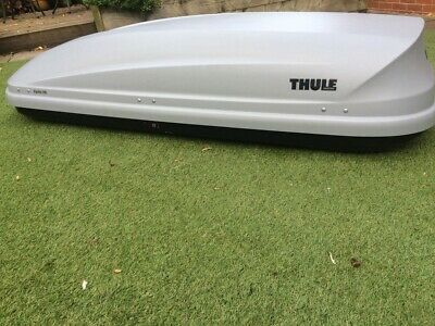 Thule Roof Box-Pacific 780, Aeroskin, Silver-Grey, Dual Side Opening • 70£