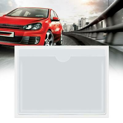 1xSelf Adhesive Backed Windscreen Ticket Holder For Parking Permit 100mm X 80mm • 0.99£