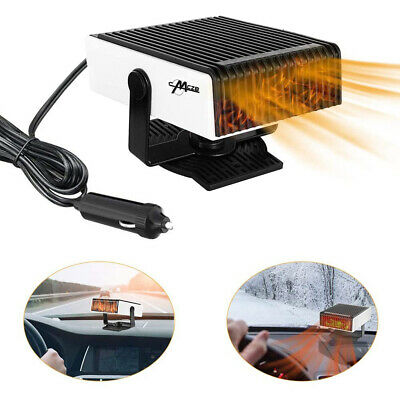 Electric Car Heater Heating Fan Windshield Defogger Defroster Demister Portable • 13.99£