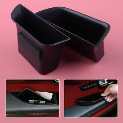 Accessories Storage Box Secondary Fit For Jaguar XF 2008-2015 Door 2Pc Tray Case • 10.59£
