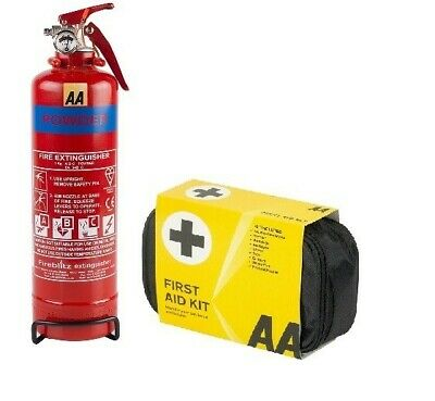 FIRE EXTINGUISHER 1Kg FIRST AID KIT FOR CARS CARAVAN HOME TAXI  • 23.99£