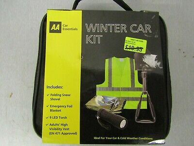 AA Winter Car Kit Driving Gift Pack With Snow Shovel Ideal For Emergencies • 15.99£